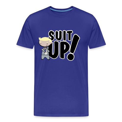 Camiseta How I met your mother, Barney Stinson Suit Up - chico manga corta - Camiseta premium hombre