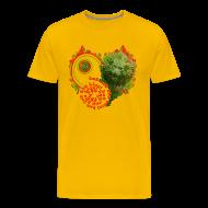 T-shirts ~ Herre premium T-shirt ~ Let out the lion, t-shirt
