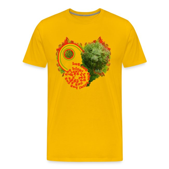 Let out the lion, t-shirt