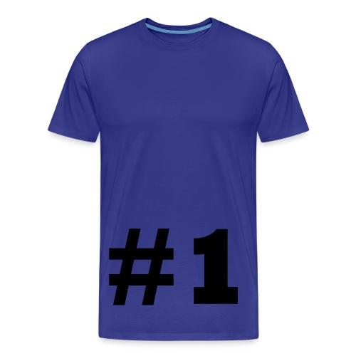 nr 1 - Premium-T-shirt herr