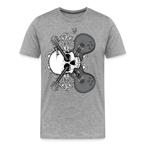 Rockin' Skull - Men's Premium T-Shirt