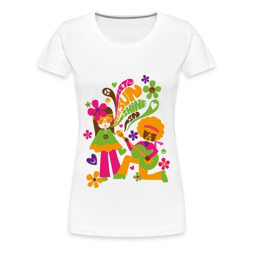 Let the sunshine in - Classique F - T-shirt Premium Femme