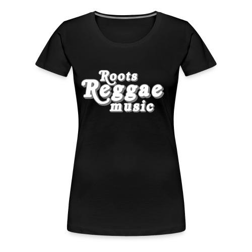 REGGAE MUSIC ARGENT/GRIS - T-shirt Premium Femme