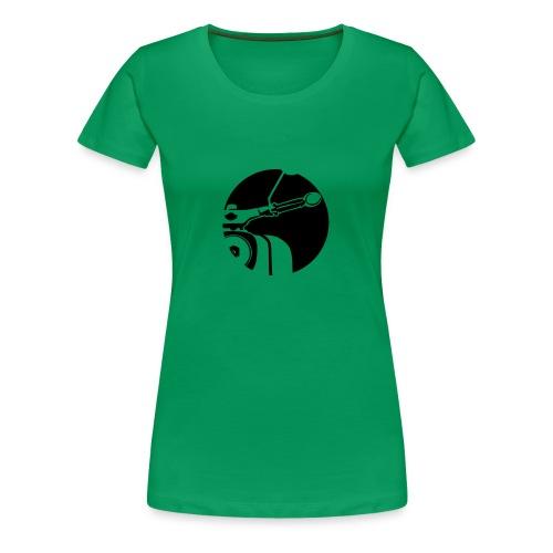 Das Shirt für die Schwalbenfahrerin - Frauen Premium T-Shirt