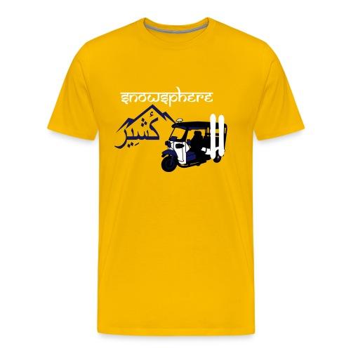 Snowboard Kashmir Ricksaw - Men's Premium T-Shirt