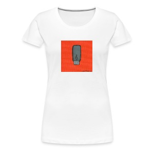 USB memory stick painting - Women's Premium T-Shirt