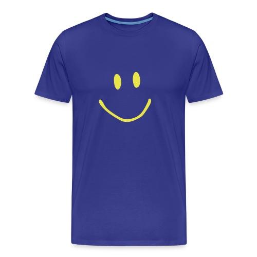 SMILEY - Premium T-skjorte for menn