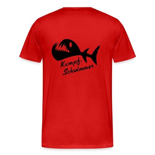 T-Shirt Kampfschwimmer - Männer Premium T-Shirt