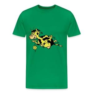 Handballkuh 2 - Männer Premium T-Shirt