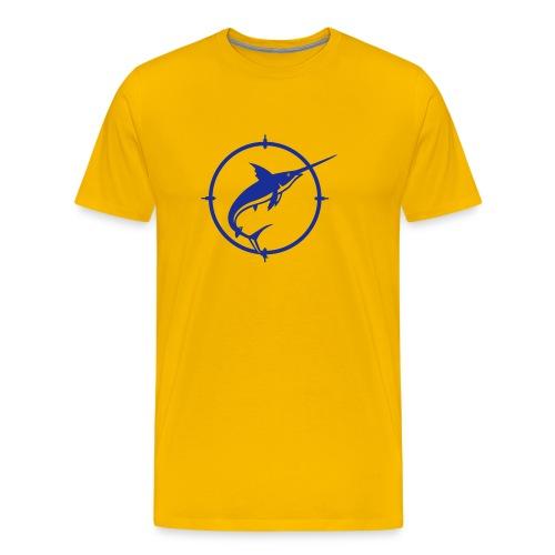 Sverdfisk - Premium T-skjorte for menn
