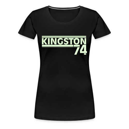 KINGSTON 74 PHOSPHORESCENT - T-shirt Premium Femme