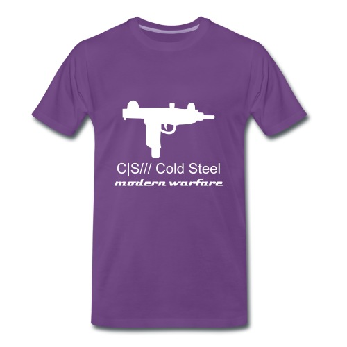 CS Uzi Design T - Men's Premium T-Shirt