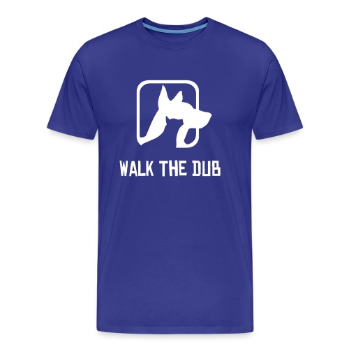 Walking the Dub - Men's Premium T-Shirt