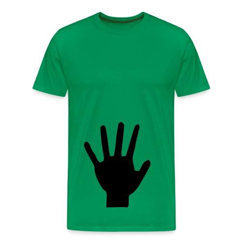GREEN - T-shirt Premium Homme