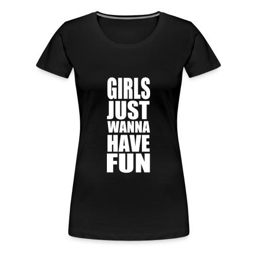 Y-Fronterz Love - Premium-T-shirt dam