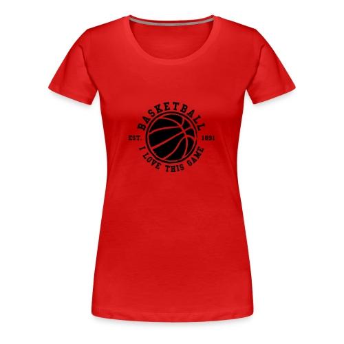 Tee-shirt de basket - T-shirt Premium Femme