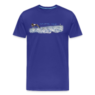 Tee shirts ~ T-shirt Premium Homme ~ Vent du large 2 light