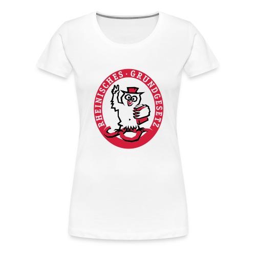Rheinisches Grundgesetz - Frauen Premium T-Shirt