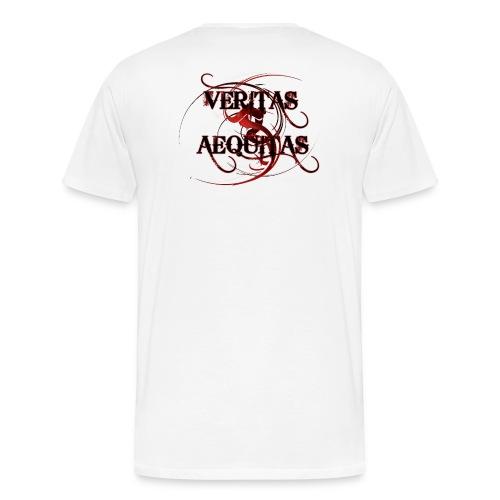 Veritas Aequitas - Männer Premium T-Shirt