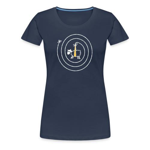Twurly Wurly Sheep - Women's Premium T-Shirt
