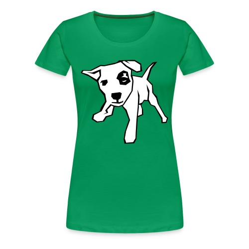 spotty dog - Women's Premium T-Shirt