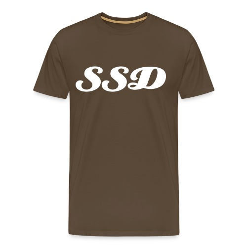 SSD Brown Tee - Premium T-skjorte for menn
