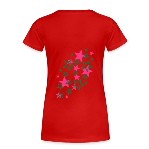 peace and love - T-shirt Premium Femme