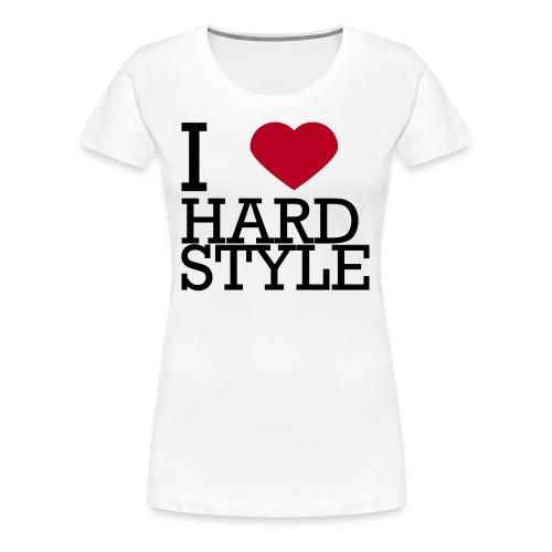 I Love Hardstyle Sweater - Vrouwen Premium T-shirt
