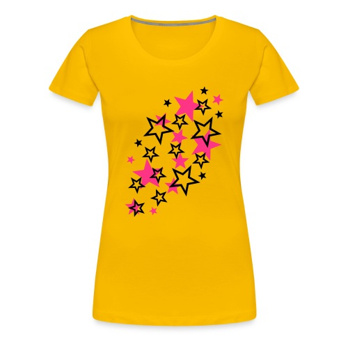 Tähtipaita - Naisten premium t-paita