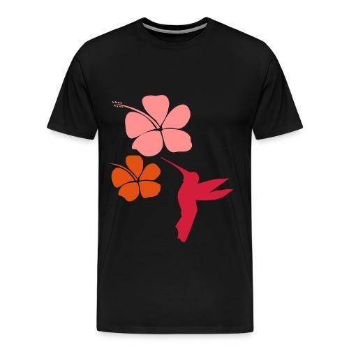 COLIBRI HIBISCUS - T-shirt Premium Homme