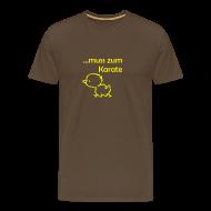 T-Shirts ~ Männer Premium T-Shirt ~ muss zum Karate