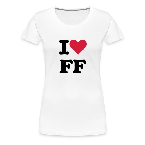 i love futscher films girl - Frauen Premium T-Shirt