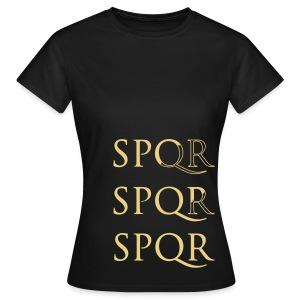 Camiseta Girlie Clàsica SPQR - Camiseta mujer