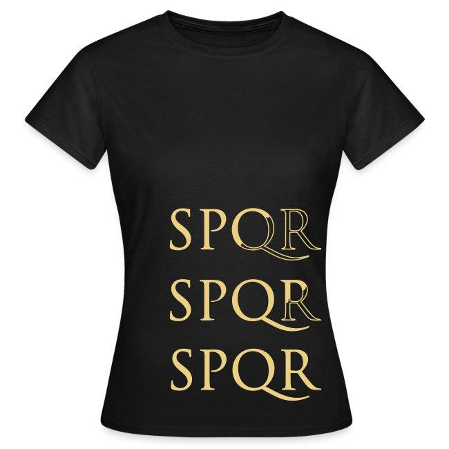 Camiseta Girlie Clàsica SPQR