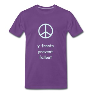 Y Fronts Prevent Fall Out - Men's Premium T-Shirt