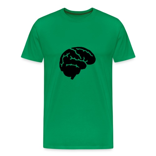 I believe in an open mind, but not so open that your brains fall out!! - Herre premium T-shirt