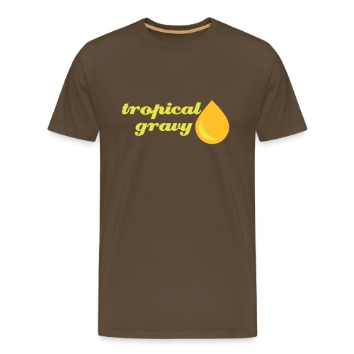 tropical gravy - Men's Premium T-Shirt