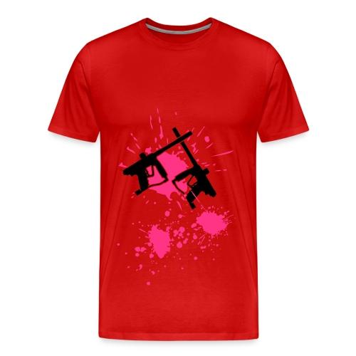 Paint Ball - Männer Premium T-Shirt