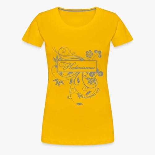 Hedonismus Silver Sparcle - Frauen Premium T-Shirt