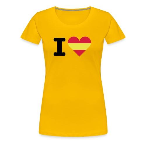 love spain - Women's Premium T-Shirt
