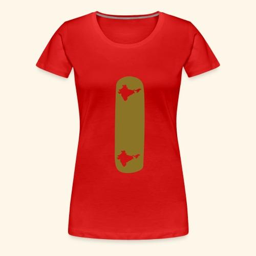 i INDIA TATTOO SHIRT - T-shirt Premium Femme