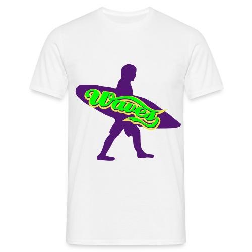 SurfWavesChillin' (sandbeige) Tee - T-skjorte for menn