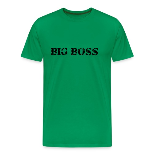 Big Boss - Premium T-skjorte for menn