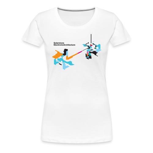 Electronic Architecture T-Shirt [Female] - Women's Premium T-Shirt