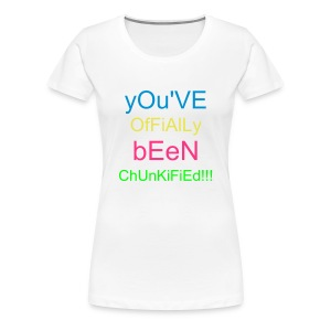 chunkified by chunky melon - Women's Premium T-Shirt