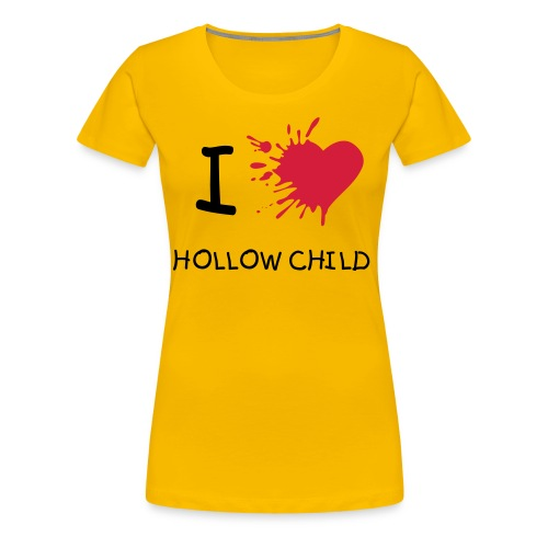 Hollow child - T-shirt Premium Femme