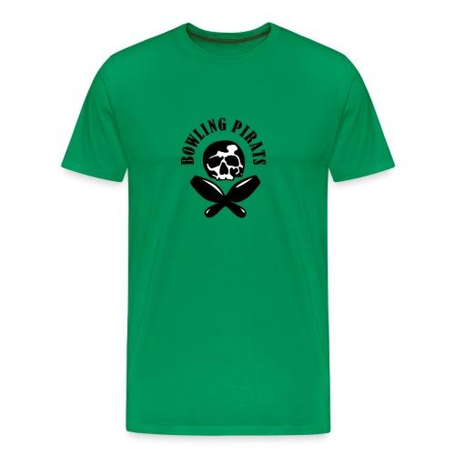 Bowling Pirats - Männer Premium T-Shirt