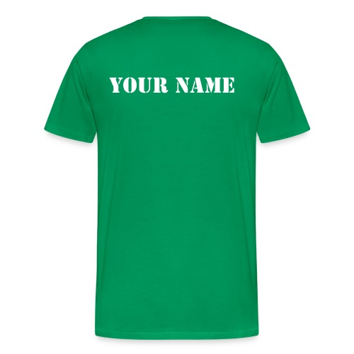 T-SHIRT WITH YOUR NAME - Men's Premium T-Shirt