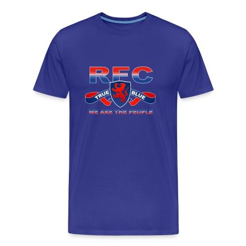 True Blue - Men's Premium T-Shirt