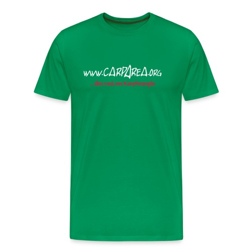 www.carparea.org T-Shirt mit Logo - Männer Premium T-Shirt